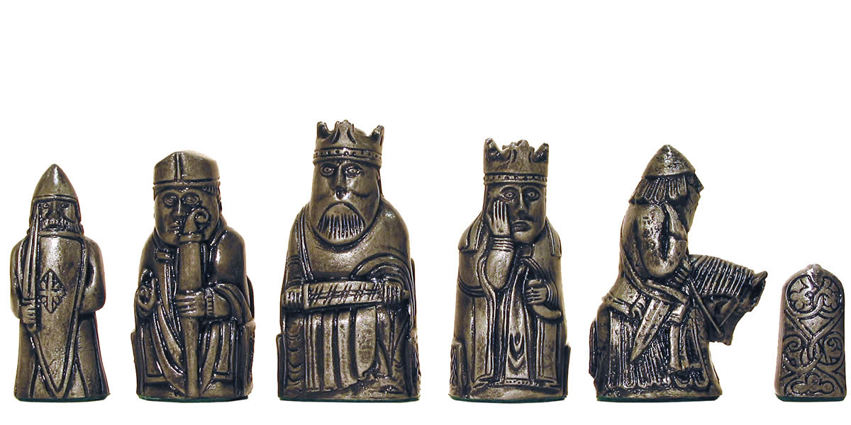 Isle of lewis chess set chess craft nz - Lewis chessmen set ...